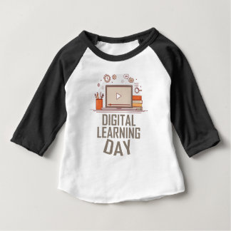 23rd February - Digital Learning Day Baby T-Shirt