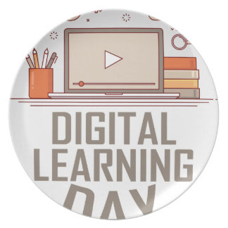 23rd February - Digital Learning Day Plates