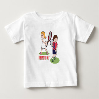 23rd February - Play Tennis Day - Appreciation Day Baby T-Shirt