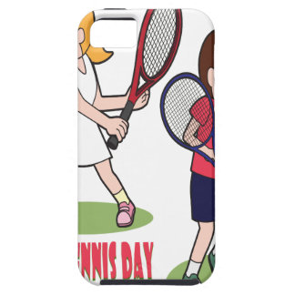 23rd February - Play Tennis Day - Appreciation Day Case For The iPhone 5