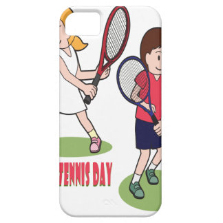 23rd February - Play Tennis Day - Appreciation Day iPhone 5 Cover