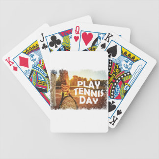 23rd February - Play Tennis Day Bicycle Playing Cards