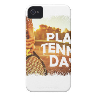 23rd February - Play Tennis Day iPhone 4 Covers
