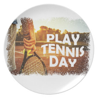 23rd February - Play Tennis Day Plate