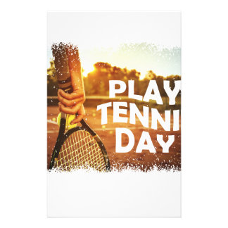 23rd February - Play Tennis Day Stationery