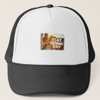 23rd February - Play Tennis Day Trucker Hat