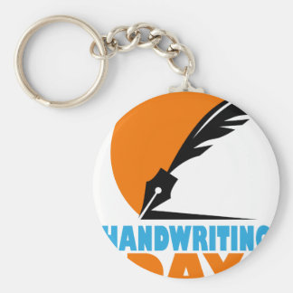 23rd January - Handwriting Day Keychain