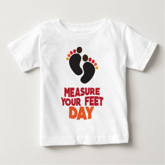 23rd January - Measure Your Feet Day Baby T-Shirt