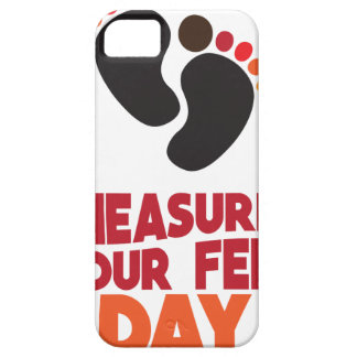 23rd January - Measure Your Feet Day iPhone 5 Cases
