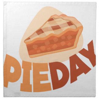 23rd January - Pie Day - Appreciation Day Napkin