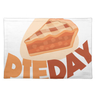 23rd January - Pie Day - Appreciation Day Placemat