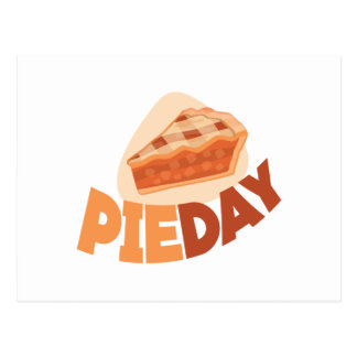 23rd January - Pie Day - Appreciation Day Postcard