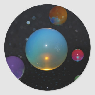 23rd Universe Round Sticker