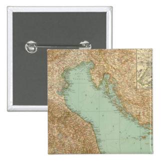 2426 North Italy 2 Inch Square Button