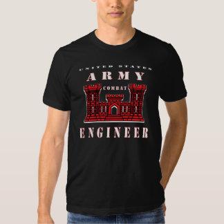 244th Engineer Battalion CBT HVY T-shirts