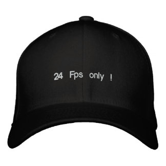 24 Fps only ! Embroidered Hats