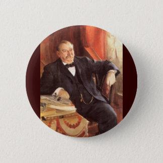 24 Grover Cleveland1 2 Inch Round Button
