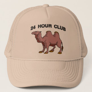24 HOUR CLUB TRUCKER HAT