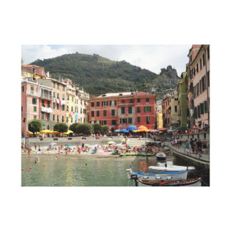 24 x 18 Wrapped canvas photo of Vernazza, Italy