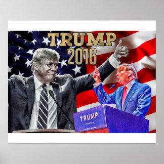 "24"" x 20"", Donald Trump Poster"