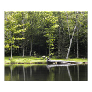 """24"""" x 20"""" Poster, Crawford Notch State Park, NH Photograph"""