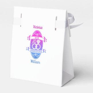 24 Year traditional opal 24th  wedding anniversary Favor Box