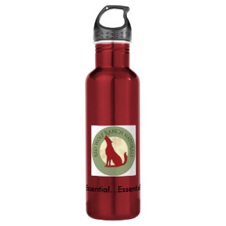 24oz Stainless Steel Water Bottle carabiner ready!