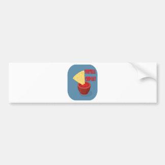 24th February Tortilla Chip Day - Appreciation Day Bumper Sticker
