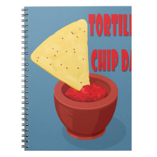 24th February Tortilla Chip Day - Appreciation Day Notebook