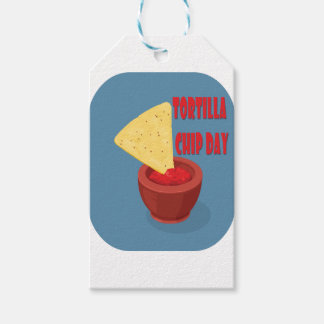 24th February Tortilla Chip Day - Appreciation Day Pack Of Gift Tags