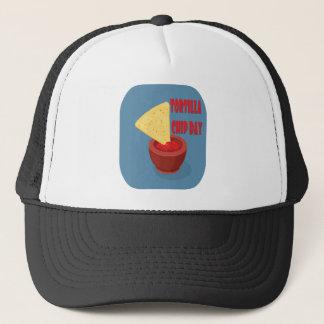 24th February Tortilla Chip Day - Appreciation Day Trucker Hat