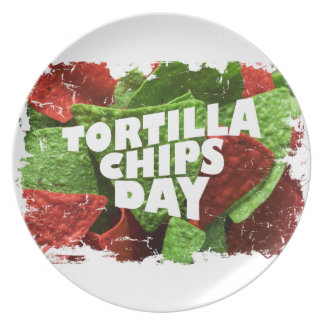 24th February - Tortilla Chip Day Dinner Plates