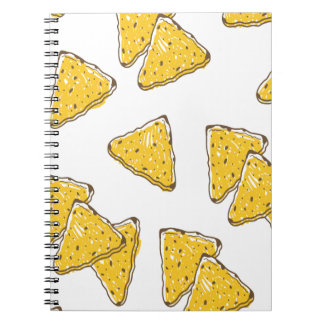 24th February - Tortilla Chip Day Spiral Notebook