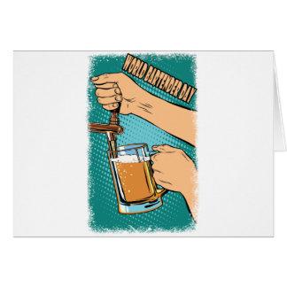 24th February - World Bartender Day Card