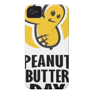 24th January - Peanut Butter Day iPhone 4 Cover