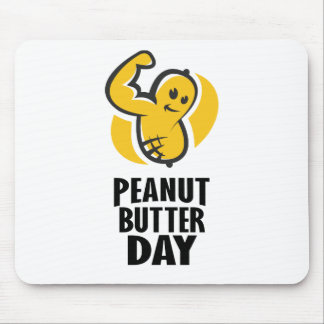 24th January - Peanut Butter Day Mouse Pad