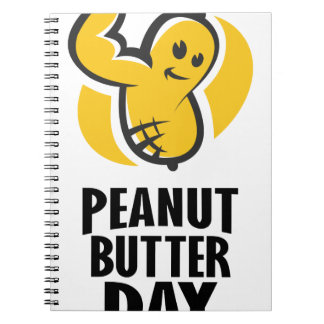 24th January - Peanut Butter Day Notebook