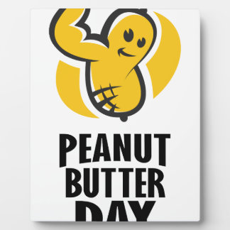 24th January - Peanut Butter Day Plaque