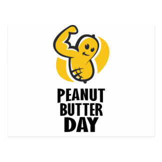 24th January - Peanut Butter Day Postcard