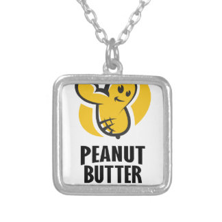 24th January - Peanut Butter Day Silver Plated Necklace