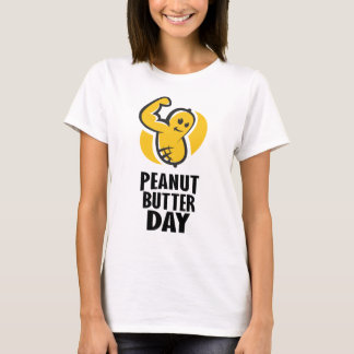 24th January - Peanut Butter Day T-Shirt