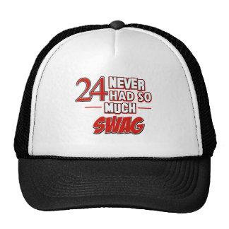 24th year anniversary hat