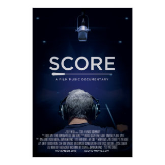 24x36 Poster SCORE: A Film Music Documentary