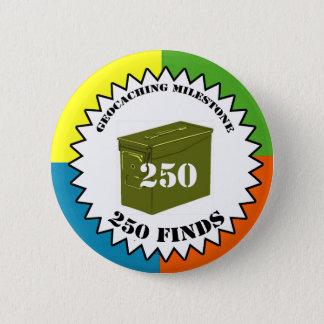 250 Finds Milestone Button
