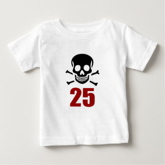 25 Birthday Designs Baby T-Shirt