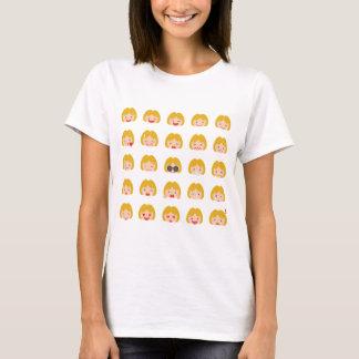 25 Blonde Emojis T-Shirt