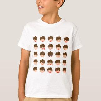 25 Boy Emojis T-Shirt