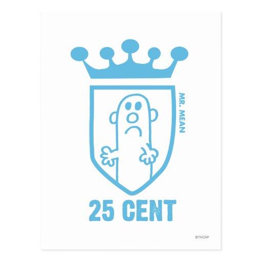 25 Cent Postcard