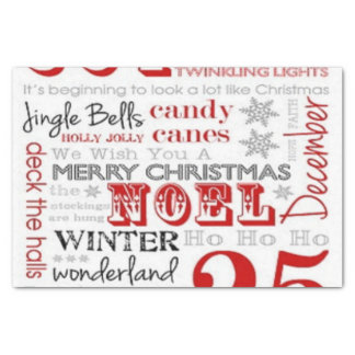 25 Days of Christmas Tissue Paper