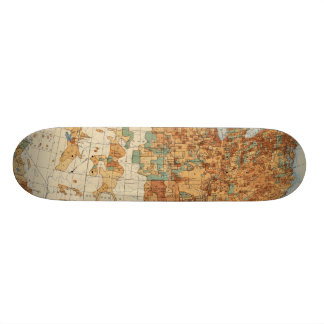 25 Density of increase of population, US, 18901900 Skateboard Decks